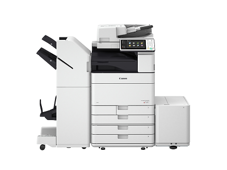 C5500 Series with Booklet Finisher and Paper Deck