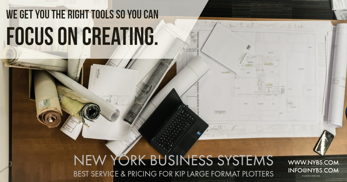 nybs large format blueprint plotter sales and leasing for schools and contractors